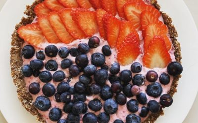 Coconut Cream Fruit Tart