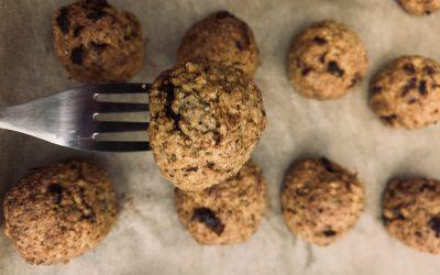 Gluten Free, Vegan Meatballs